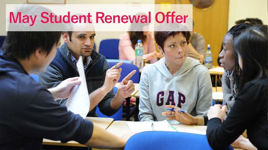 May Offer Student Renewal website