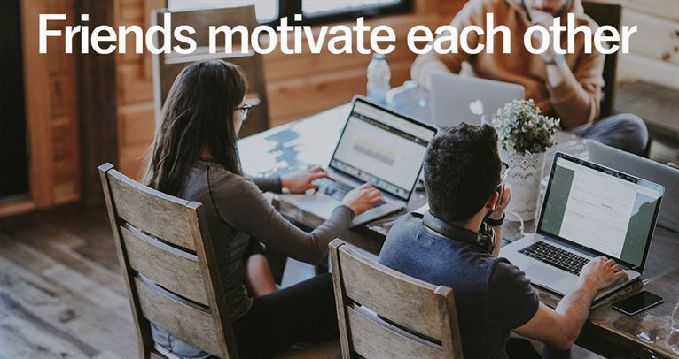 May offer friends motivate each other